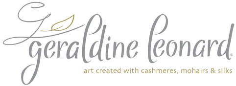 Geraldine Leonard - Textile Artist & Designer - Made from Luxurious Silks, Cashmeres & Mohairs.